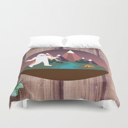 Big Dennis's Wild Day Out Duvet Cover