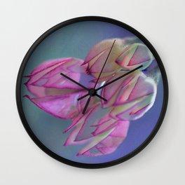Pearl buds. Wall Clock