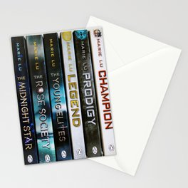 Marie Lu Book Spines Stationery Cards