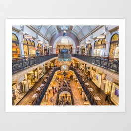 Queen Victoria Building, Sydney Art Print