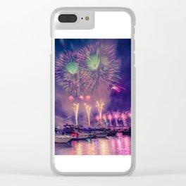 Happy Birthday America -3 Clear iPhone Case