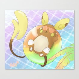 Just Chillin (Day) Canvas Print
