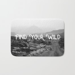 FIND YOUR WILD II Bath Mat