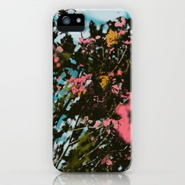 Birch Island Print iPhone Case