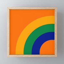 Citrus Bow Framed Mini Art Print