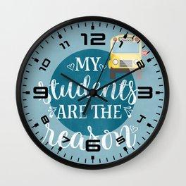My students Wall Clock