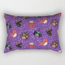 Hola Mijas Bonitas Halloween Candy  Rectangular Pillow