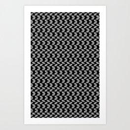 Drawn Triangles 01 Art Print