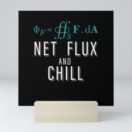 Net flux and chill scince invite for some fun Mini Art Print