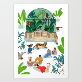 Le Dome Art Print