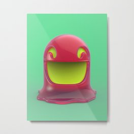 Jelly thing 3d Metal Print
