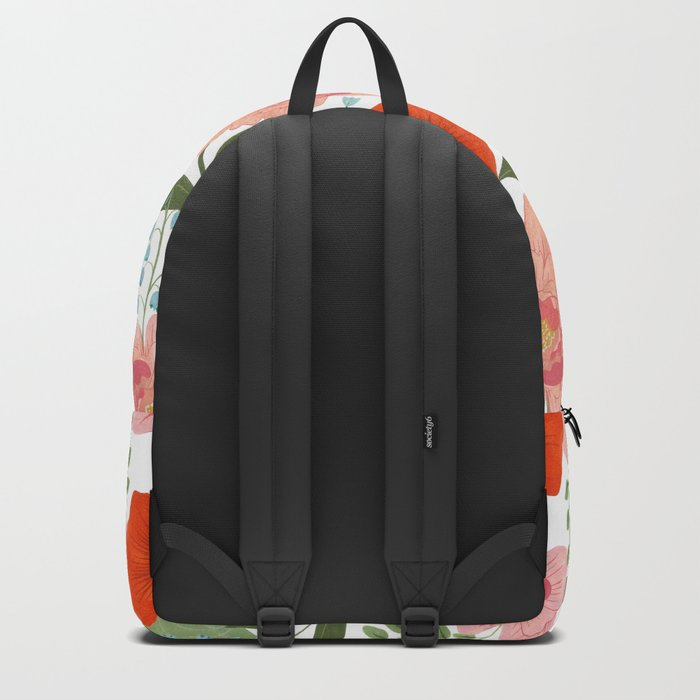 Pions and Poppies Backpack