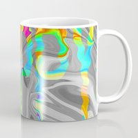 trippy Mugs featuring Trippy by Cale potts Art