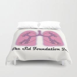 The Sid Foundation Inc. Logo Duvet Cover