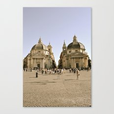The Twins  Canvas Print
