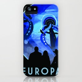 Vintage poster - Europa iPhone Case
