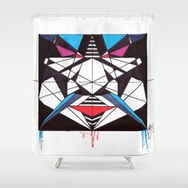 a deeper breathe Shower Curtain