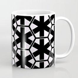 Multi Pattern Black and White Design Coffee Mug