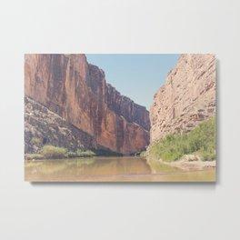 Santa Elena Canyon Metal Print