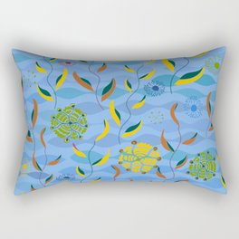Ocean Currents Rectangular Pillow