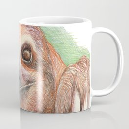 The Smiling Sloth Coffee Mug