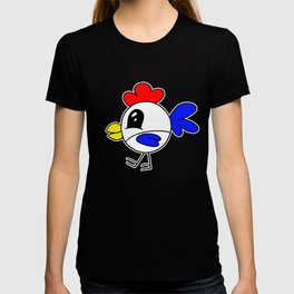 Drawn by hand a funny little chicken for children and adults T-shirt