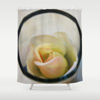 wedding Shower Curtains featuring Wedding by BrightSky