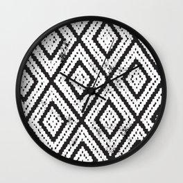 Boho Pattern Wall Clock