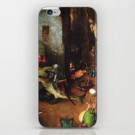 The Last Judgement - Hieronymus Bosch iPhone Skin