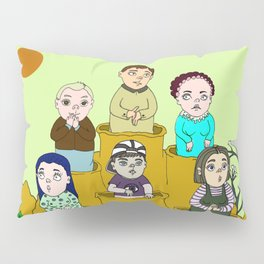 Human gophers Pillow Sham