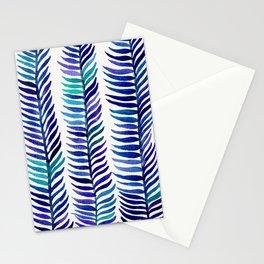 Indigo Seaweed Stationery Cards