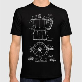 Cafetera Xrays Part 1 T-shirt