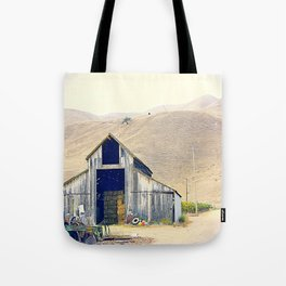 old house. Tote Bag