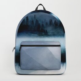 Mountainscape Under The Moonlight Rucksack