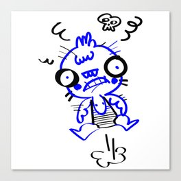 Angry Man Canvas Print