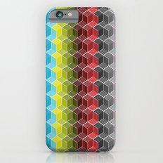 Hexagon Shades / Pattern #6 iPhone 6s Slim Case