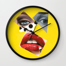 No Filter Me Wall Clock