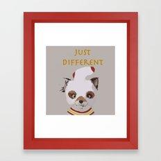 Fantastically Different  Framed Art Print