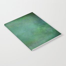 Looking into the depths of green Notebook
