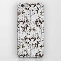 snow leopard iPhone & iPod Skins featuring Snow Leopard by lillianhibiscus