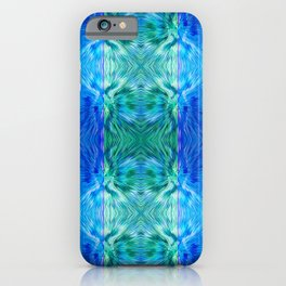 210 - abstract pattern iPhone Case