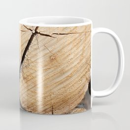 Wood Pile Coffee Mug