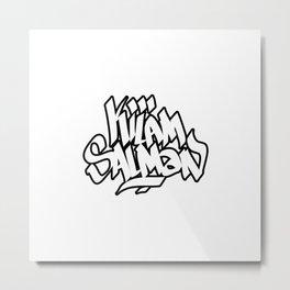 KilamSalman Classique Metal Print