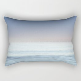 Wind Turbines, St Georges Channel, abergele, North Wales Rectangular Pillow