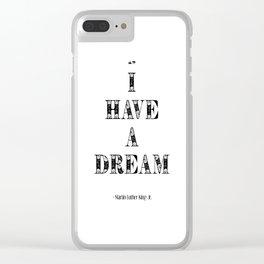 Martin Clear iPhone Case