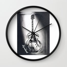 Gibson Byrdland Guitar,  Music Art, Rock & Roll Wall Decor Wall Clock