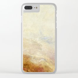 A mountain scene by Joseph Mallord William Turner, 1845 Clear iPhone Case