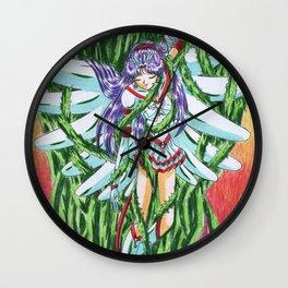 Eternal Sailor Mars Wall Clock
