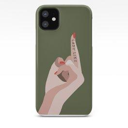 LADYLIKE iPhone Case