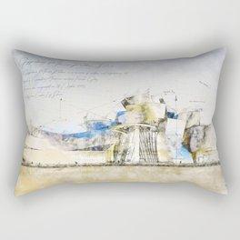 Guggenheim Museum, Bilbao Rectangular Pillow
